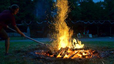 Příprava ohně