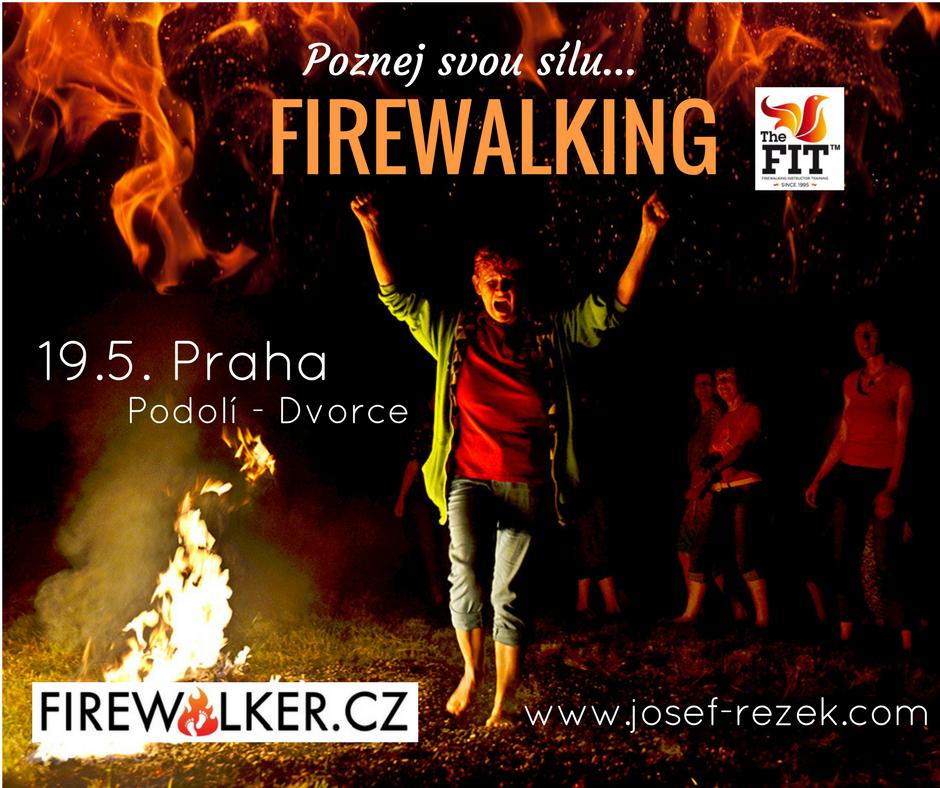 Firewalking Praha